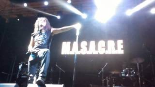 M.A.S.A.C.R.E(Perú) - Conciencia magra (Rock And Heavy Festival-2015)