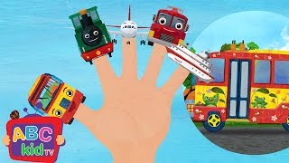 Finger Family - Vehicles | Nursery Rhymes & Kids Songs - ABCkidTV