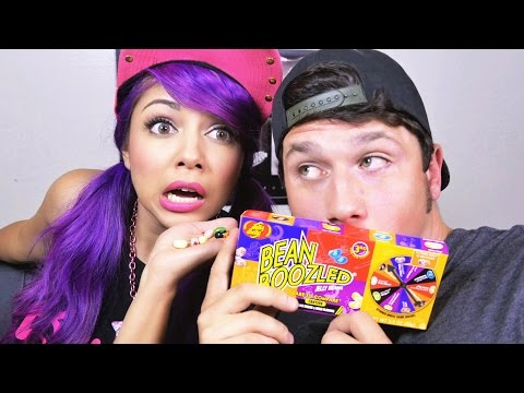 Bean Boozled Challenge: HUSBAND AND WIFE!