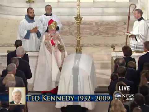 Sen. Kennedy's Funeral:  Final Commendation
