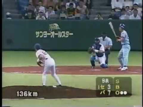 Ichiro Suzuki pitching in Japanese All-Star Game 1996 (Short-Version 1)