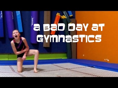 A Bad Day At Gymnastics | Bethany G Vlog 2016-04-02