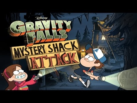 Gravity Falls Mystery Shack Attack - Universal - HD Gameplay Trailer