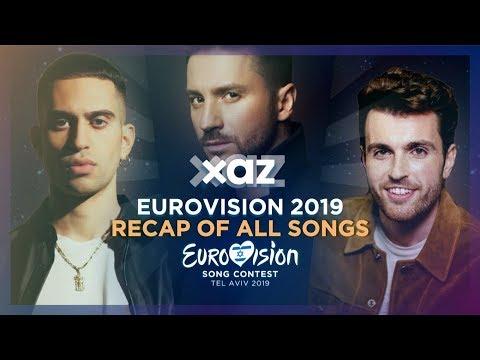 Eurovision 2019 - Recap Of All Songs
