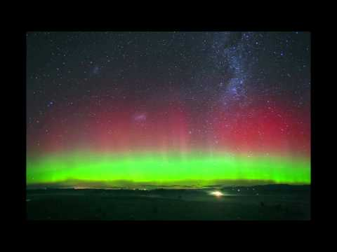Aurora Australis at Timaru NZ 2012-07-15 - Patiti Point and Adair.mp4
