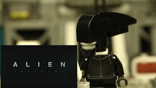 LEGO Alien Reacts to Alien: Covenant (2017) Trailer