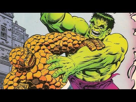 The Hulk Vs The Thing video
