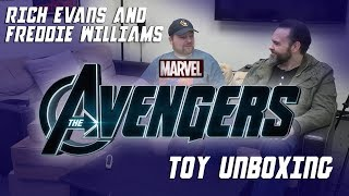 Avengers Toy Unboxing with Freddie Williams and Rich Evans
