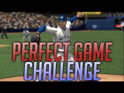 MLB 2k13 Perfect Game Challenge! - MrHurriicane Tries To Win $25.000 LIVE!