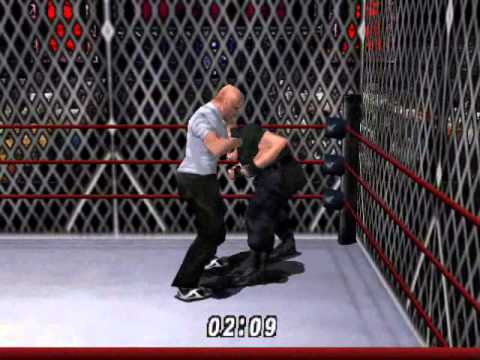 Wwf No Mercy Steve Wilkos Vs Big Boss Man In A  Cage Match video