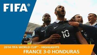 FRANCE v HONDURAS (3:0) - 2014 FIFA World Cup™
