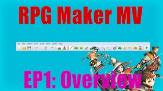 RPG Maker MV - Tutorial Ep.1 - Overview