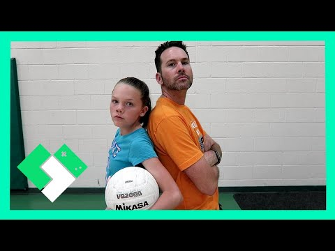 KIDS VS PARENTS VOLLEYBALL GAME (Day 1479)