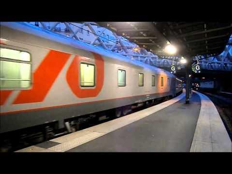 EN 453 Paris to Moscow train