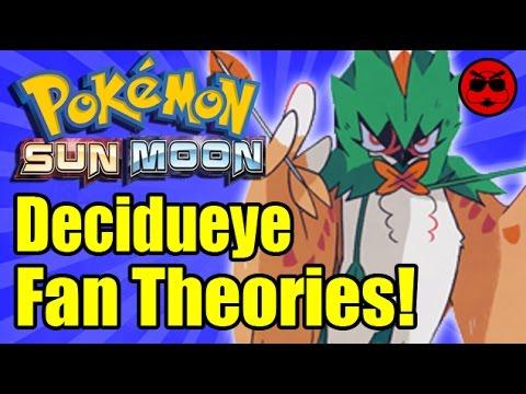 Decidueye Pokemon Fan Theories! - Game Exchange