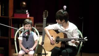 Sungha and Lincoln singing together live !!!