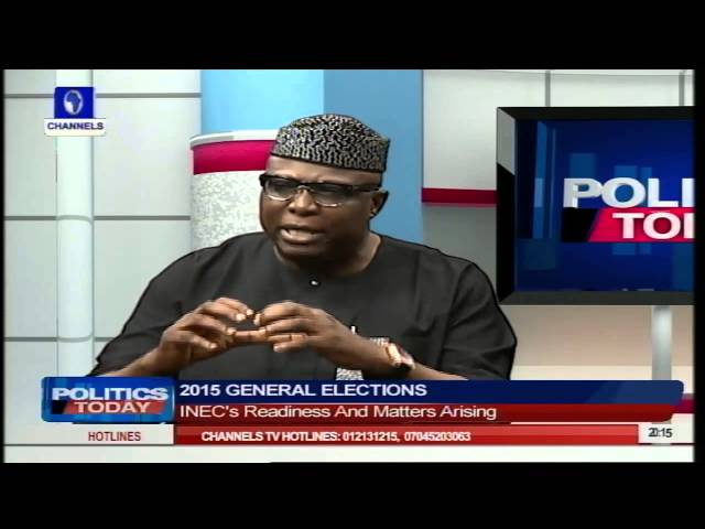 Politics Today: INEC's Readiness For Elections And Other Issues PT2