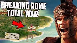 Breaking Rome Total War By Emigrating Italy To Britain?!