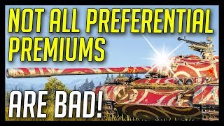 ► Not All Pref. Premiums Are Bad! - World of Tanks Preferential Premium Tanks Gameplay