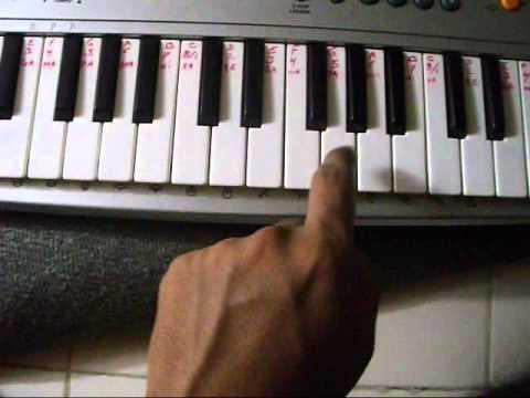 Me Hai Koli On Piano Tutorial video