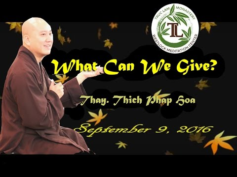 What Can We Give?