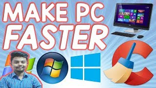 Your Computer is Slow? Here's How to make your pc/laptop run faster (3 simple steps) Windows 7,8.10
