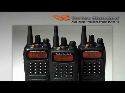 Vertex Standard Demo: Auto-Range Transpond System (ARTS) and ARTS II
