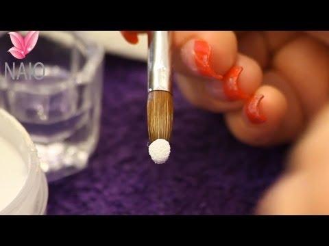 Correct Acrylic Consitancy Tutorial by Naio Nails
