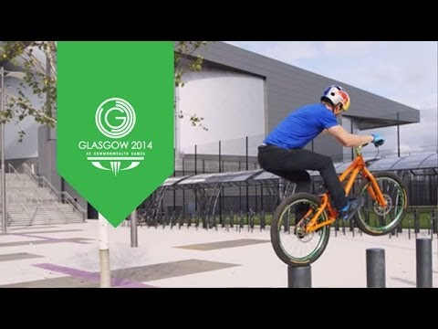 When Sir Chris Hoy met Danny MacAskill  | Glasgow 2014 | XX Commonwealth Games