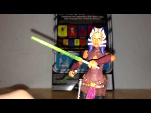 Star Wars TVC Bonerific Ahsoka action figure review HD