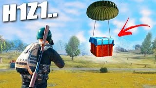 ENCONTREI uma CAIXA SECRETA!!! - (Battlegrounds) NOVO H1Z1?