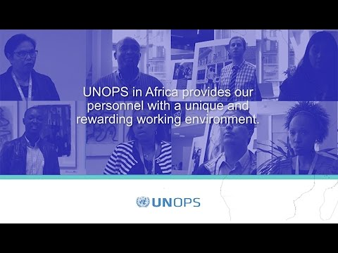 UNOPS work in Africa