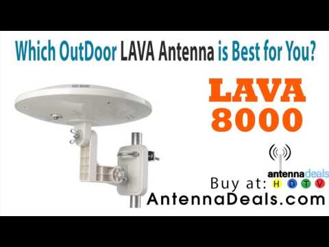 Outdoor Lava hd-8008 Antenna review   hd-8008 omni-directional hdtv antenna