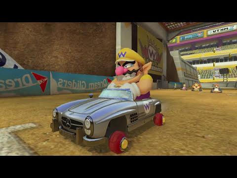 Mario Kart 8: Update 2.0! New DLC Mercedes, Yoshi & Shy Guy Colors, Map Gameplay Walkthrough Wii U