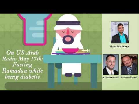 On US Arab Radio Tuesday: Fasting #Ramadan while being diabetic