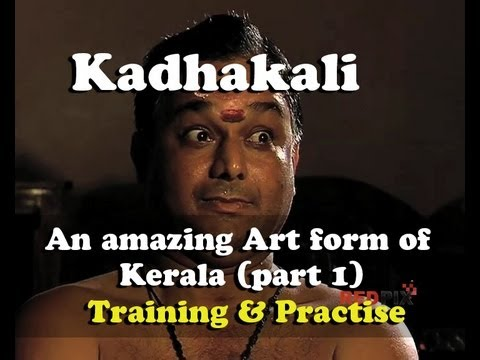 Kathakali - An Amazing Art Form Of Kerala (part 1) [red Pix] video