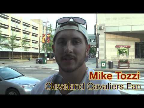 Cleveland Celebrates the Return of LeBron James to the Cavaliers