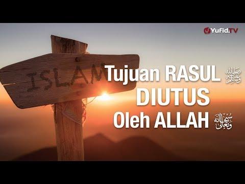 Khutbah Jum'at : Tujuan Rasul Diutus Oleh Allah– Ustadz Mubarok Bamualim, Lc. M.HI