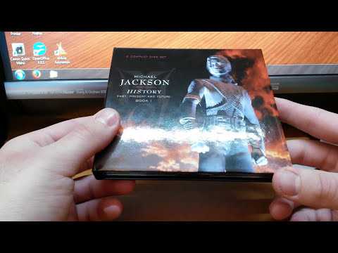 [UNBOXING] Michael Jackson - HIStory - Past, Present and Future (Book I) Digibook version