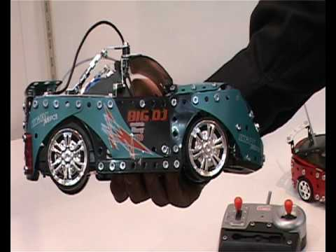 Clubit TV at London Toy Fair 2010 - Meccano review
