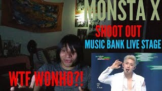 MONSTA X 몬스타엑스 Shoot Out Music Bank Live Stage Reaction