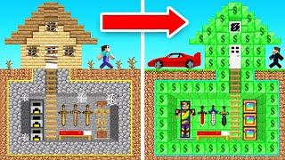 BECOMING a BILLIONAIRE in Crazy Craft (Minecraft)