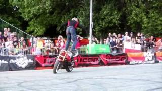 Amazing the best tricks the motorbike