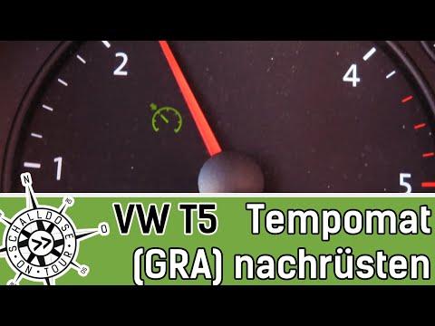 VW T5 Tempomat nachrüsten || GRA Nachrüst-Set verbauen || SCHALLDOSE ON TOUR