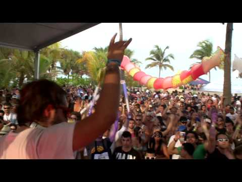 Sebastian Ingrosso in Miami at Winter Music Conference 2009 Video