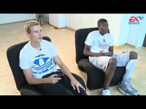 EA SPORTS TV | Österreich - Deutschland mit David Alaba und Holger Badstuber
