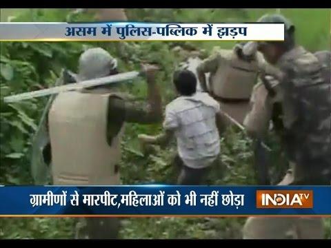 Assam-Nagaland Border Violence Turns Violent, 2 Dead In Police Firing - India TV
