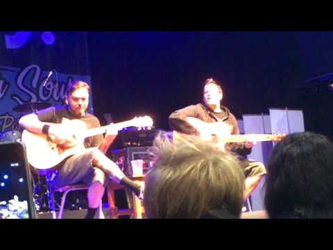 Bowling For Soup - Today Is Gonna Be A Great Day Acoustic In Manchester video