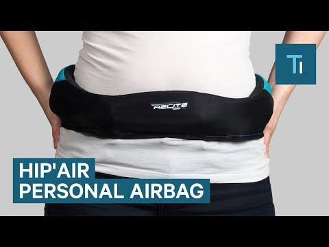 The Hip'Air Inflates To Prevent Hip Injuries