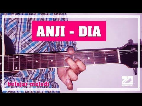 ANJI - DIA   Instrumen Melodi Tutorial